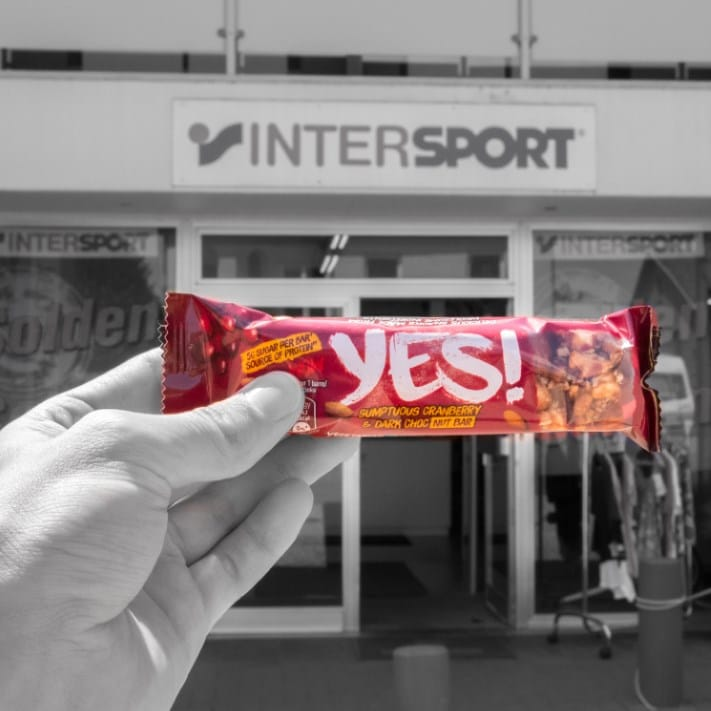 Yes! at Intersport and Thermen